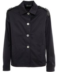 Mr & Mrs Italy Military jacket for woman - Negro