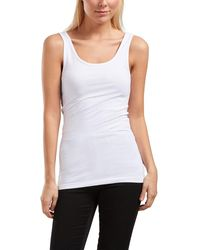 ONLY Basic Tank top - Weiß