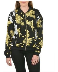 Liu Jo Zip Through Sweatshirt - Zwart