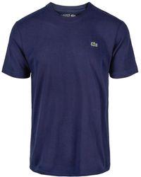 Lacoste Round-neck t-shirt - Bleu