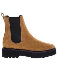 Tod's Beattle Boots - Bruin