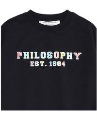 Philosophy Di Lorenzo Serafini Sweater Negro