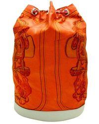 Hermès Tweedehands Rugzak - Oranje
