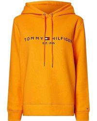 Tommy Hilfiger Hoodie - Oranje
