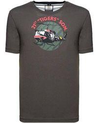 Aeronautica Militare P/e20 ts1709 t-shirt manica corta - Grigio