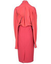 Malloni Dress Rojo