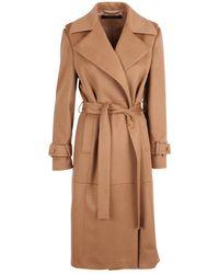 FEDERICA TOSI Wool Coat - Neutro