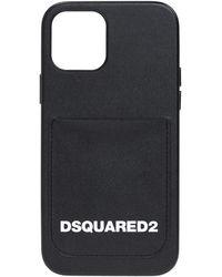 DSquared² Iphone 11 pro case with logo - Noir