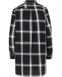 Woolrich Over Shirt Flannel Shirt Negro