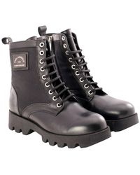 Karl Lagerfeld Zapato hi lace boot - Negro