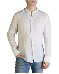 Yes-Zee Overhemd Lange Mouw - C506_u400 - Bruin