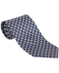 Ferragamo Tie - Blauw