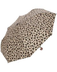 Liu Jo Spotted Automatic Umbrella - Naturel