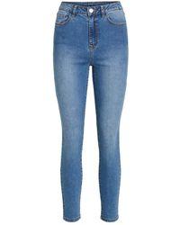 Vila - 7/8 Jeans - Lyst