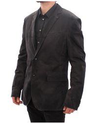 Dolce & Gabbana Blazer de dos botones Negro