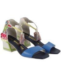 Kat Maconie High Heel Sandals Azul