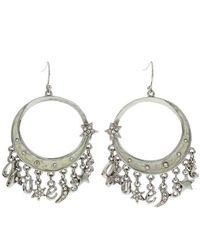 Guess Earrings Ufe90901 - Grau
