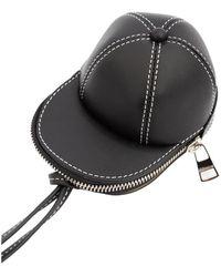 JW Anderson Nano cap bag - Negro