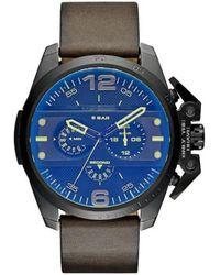 DIESEL Watch Dz4364 - Blauw