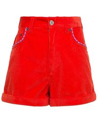 M Missoni Shorts With Logo - Rood