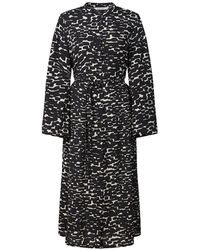 summum woman Printed dress - Negro