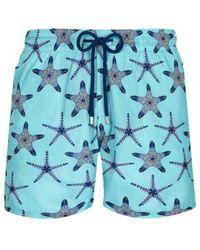 Vilebrequin Ultra-light Starfish Dance Swim Shorts - Blauw