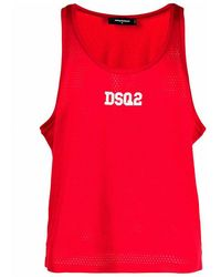 DSquared² Top - Rood