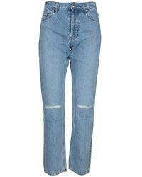 Helmut Lang Jeans L05Dw203D Azul