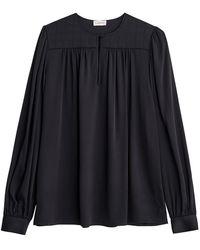 Versace Armella Bluser Q68820009 - Zwart