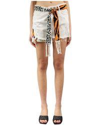 Laneus Shorts - Blanco