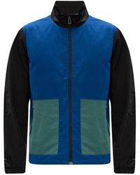 PS by Paul Smith Band Collar Jacket - Blauw
