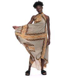 Louis Vuitton Dress Celerate - Marrone