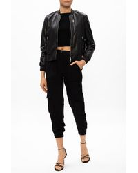 AllSaints Frieda trousers with pockets Negro