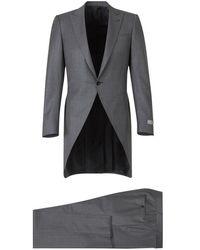 Canali Wool morning coat - Gris
