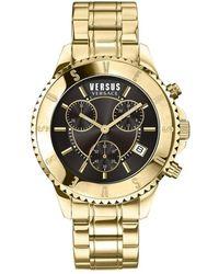 Versus Tokyo Chronograph Watch - Gelb