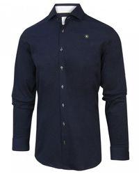 BLUE INDUSTRY Overhemd 2060.21 - Blauw
