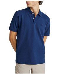 Ecoalf Polo Shirt - Blauw