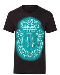 Billionaire T-shirt - Azul