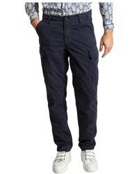 Hartford Task Cargo Pants - Blu