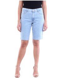 J Brand Jb002955 Bermuda Jeans - Blauw