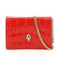 Alexander McQueen Skull Micro Bag - Rood