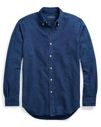 Polo Ralph Lauren 710723610-001 Shirt - Blauw