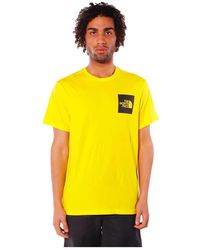 The North Face T-shirt Fine - Geel