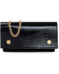 AllSaints Albert wallet with chain - Nero