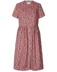 Lolly's Laundry Aliya Dress - Rood
