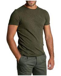 American Vintage - Leaf Bysapick T-shirt Verde - Lyst