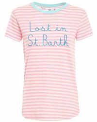 Mc2 Saint Barth T-shirt - Roze