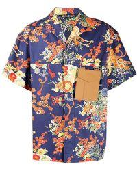 Palm Angels Shirt - Blauw