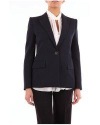 Givenchy Bw307z11bn Blazer - Blauw