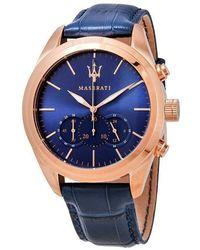 Maserati Watch - Blau